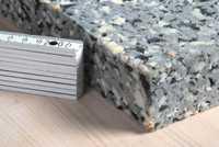 Verbundschaumstoff V120 100x200x2cm Verbundplatten recyclingfähiger Preßschaum