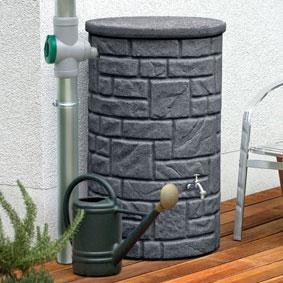 Regenspeicher anthrazit Arcado 230 liter