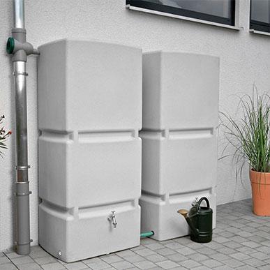 Regenwassertank oberirdisch bis 1000 l