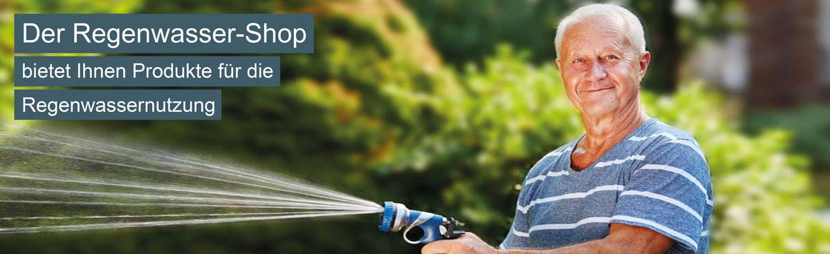 Der Regenwasser Shop für Regenwassernutzung