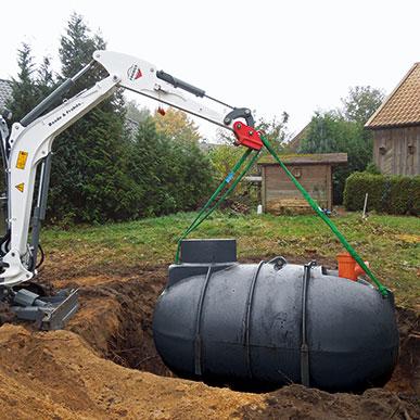 Abwassersammelgrube