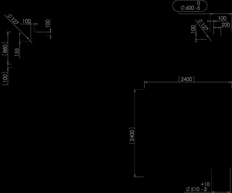 REWATEC F-Line 3.000 L Zeichnung