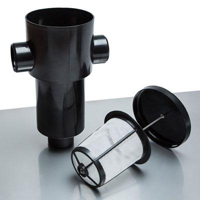 Regenwasserfilter Gartenfilter S Funktionsprinzip