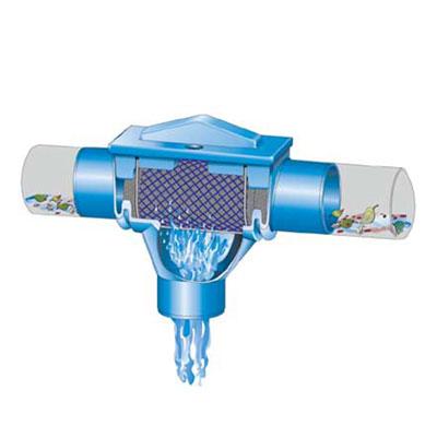 Regenwasserfilter Kompaktfilter K Funktionsprinzip