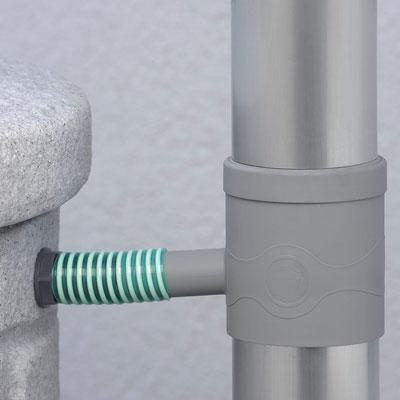 3P Regensammler standard grau Anwendungsbeispiel