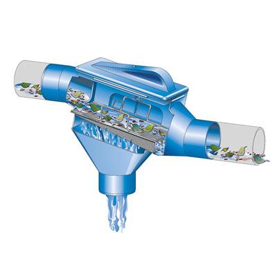 Regenwasserfilter Zisternenfilter ZF Funktionsprinzip