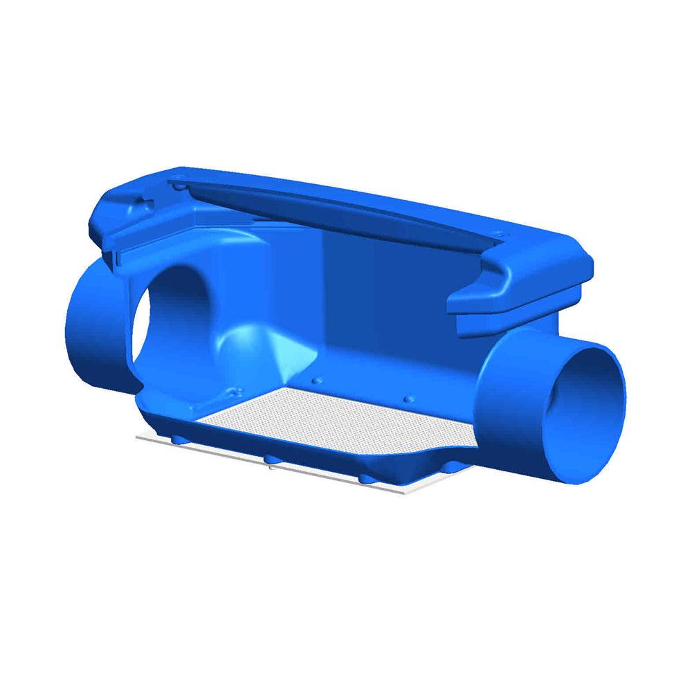 Regenwasserfilter Verrieselungsfilter DN 150 Funktionsprinzip