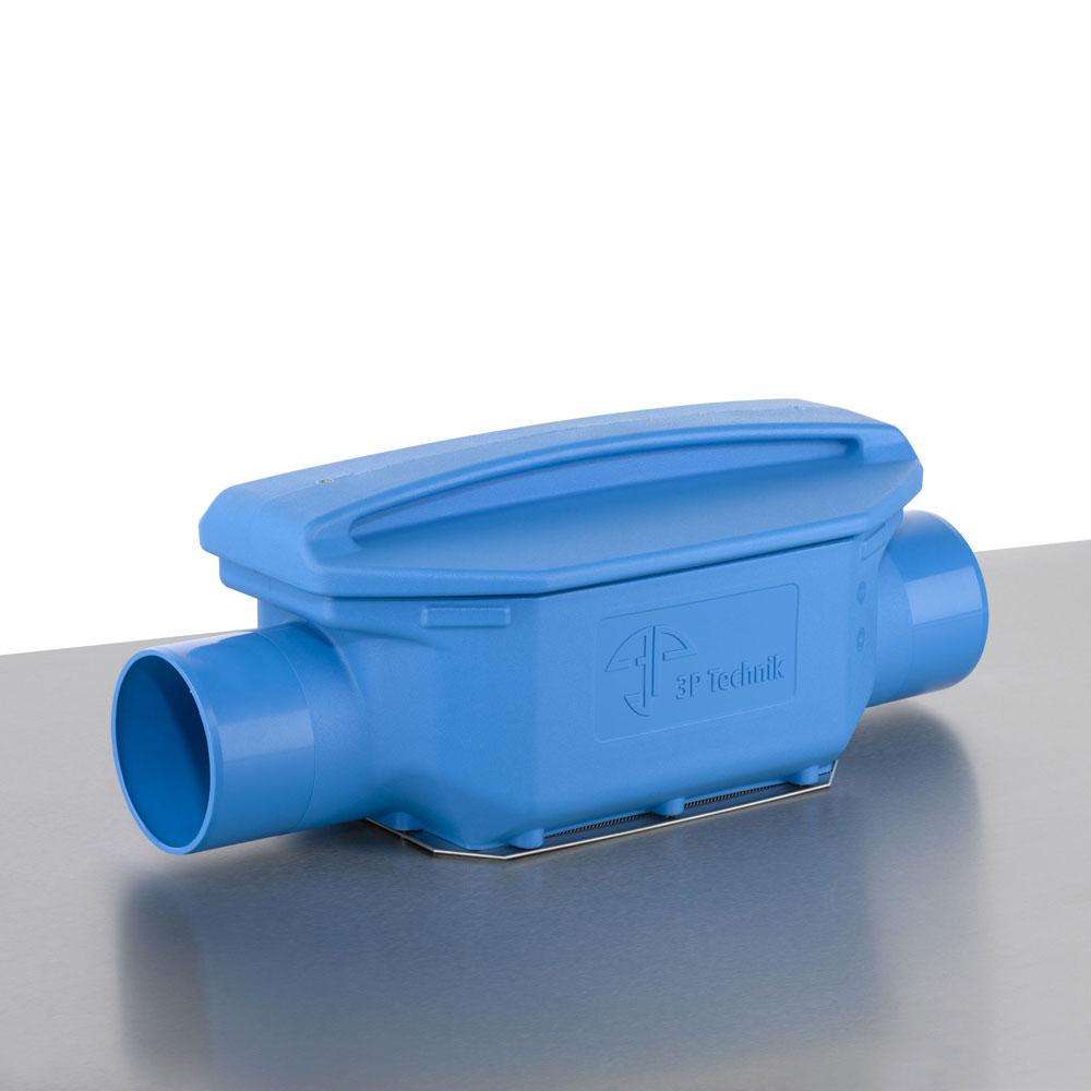 Regenwasserfilter Verrieselungsfilter DN 150 ohne Höhenversatz
