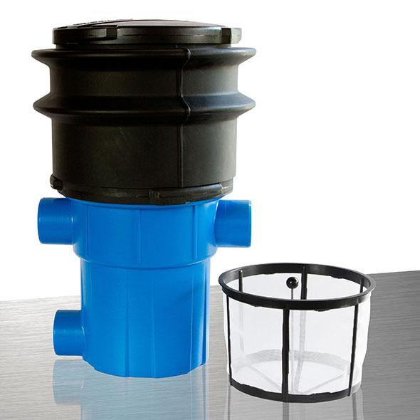 Regenwasserfilter extern