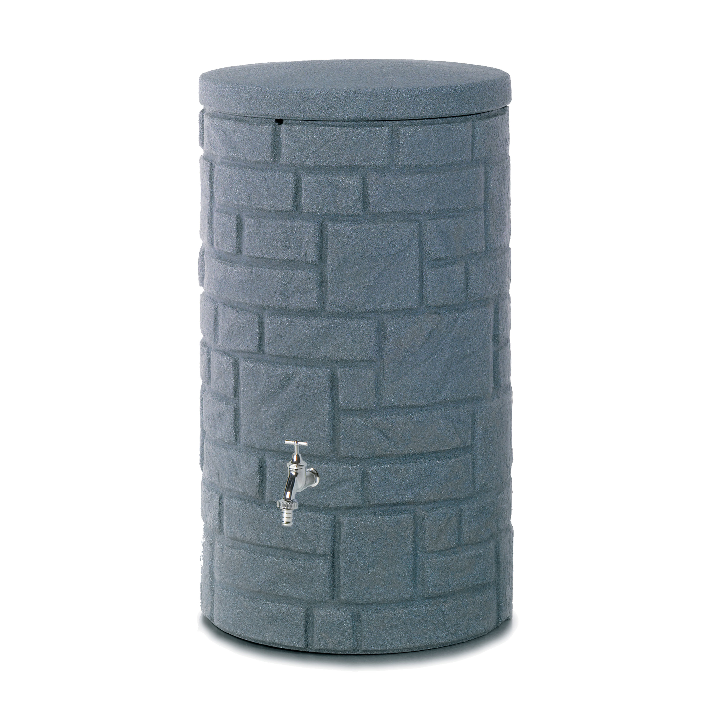 regentonne anthrazit arcado 230 liter. Black Bedroom Furniture Sets. Home Design Ideas