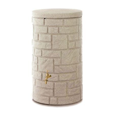 Regenwassertonne Arcado 230 liter sandstein – Bild 2
