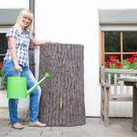 Regenwassertank Baumstamm Evergreen 475 liter braun 001