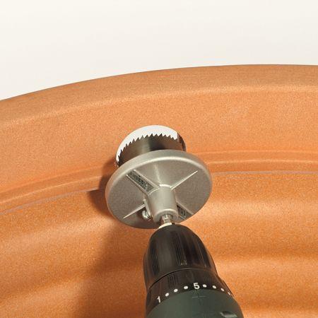 Regenwassertank Lochsägen-Set mit Dichtungen – Bild 3