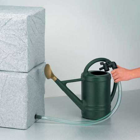 Regenwassertonne Entnahme-Set mit Schlauch – Bild 1