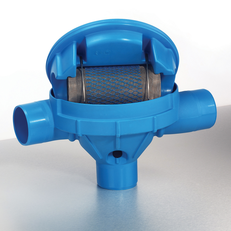 Regenwasserfilter Sinusfilter SF ohne Höhenversatz