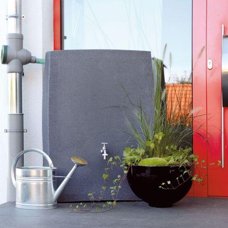 Regenwassertonne anthrazit Noblesse 275 liter – Bild 1