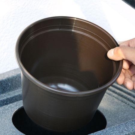 Regenwassertonne anthrazit Noblesse 275 liter – Bild 5