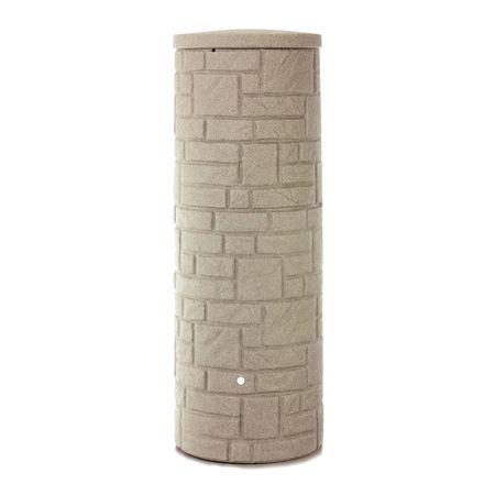 Regenwassertonne Arcado 360 liter sandstein – Bild 2