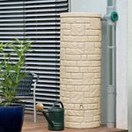 Regenwassertank Arcado 360 liter sandstein 001