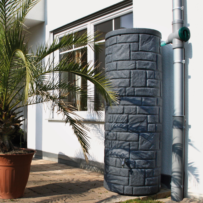 Regentonne anthrazit Arcado 360 liter