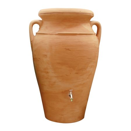 Regenwassertonne Amphore Helena 300 liter terracotta