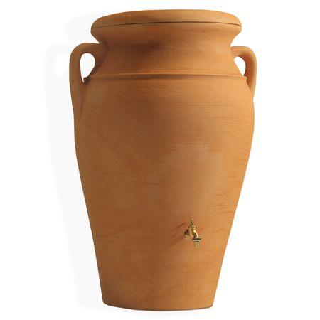 Regenwassertonne Amphore Helena 300 liter terracotta – Bild 4
