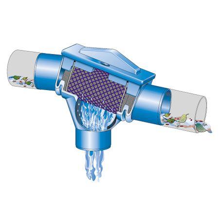 Regenwasserfilter Patronenfilter PF Höhenversatz 66 mm – Bild 3