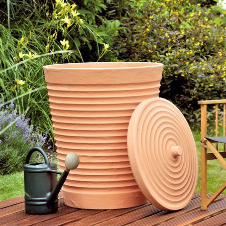 Regenwassertonne terracotta Trentino 275 liter – Bild 3