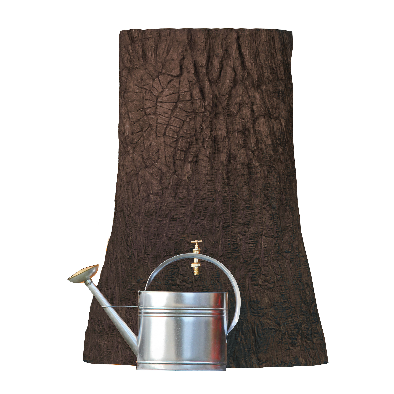 regentonne baumstamm little tree 250 liter braun. Black Bedroom Furniture Sets. Home Design Ideas
