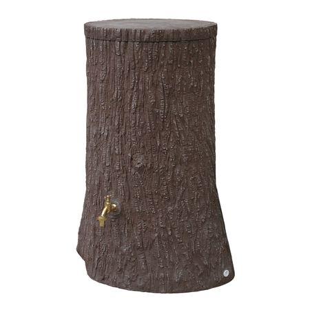 Regenwassertonne Baumstamm Little Tree 250 liter braun – Bild 2