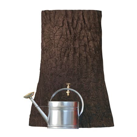 Regentonne 250 liter Little Tree braun