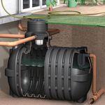 Regenwassertank AquiriRain SL inkl. Korbfilter-Set Basic 001
