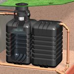 Regenwassertank AquiriRain ST inkl. Korbfilter-Set Basic
