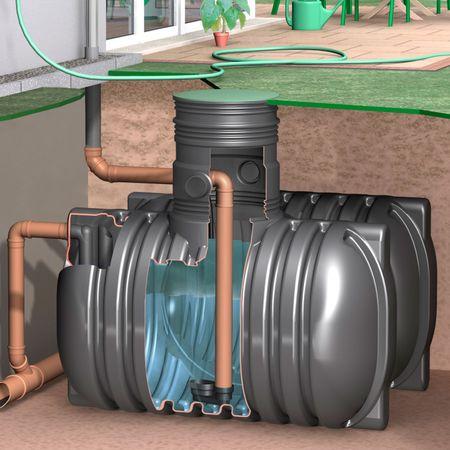 Regenwassertank AquiriRain BS inkl. Grundpaket