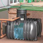Regenwassertank AquiriRain BS inkl. Korbfilter-Set Basic 001