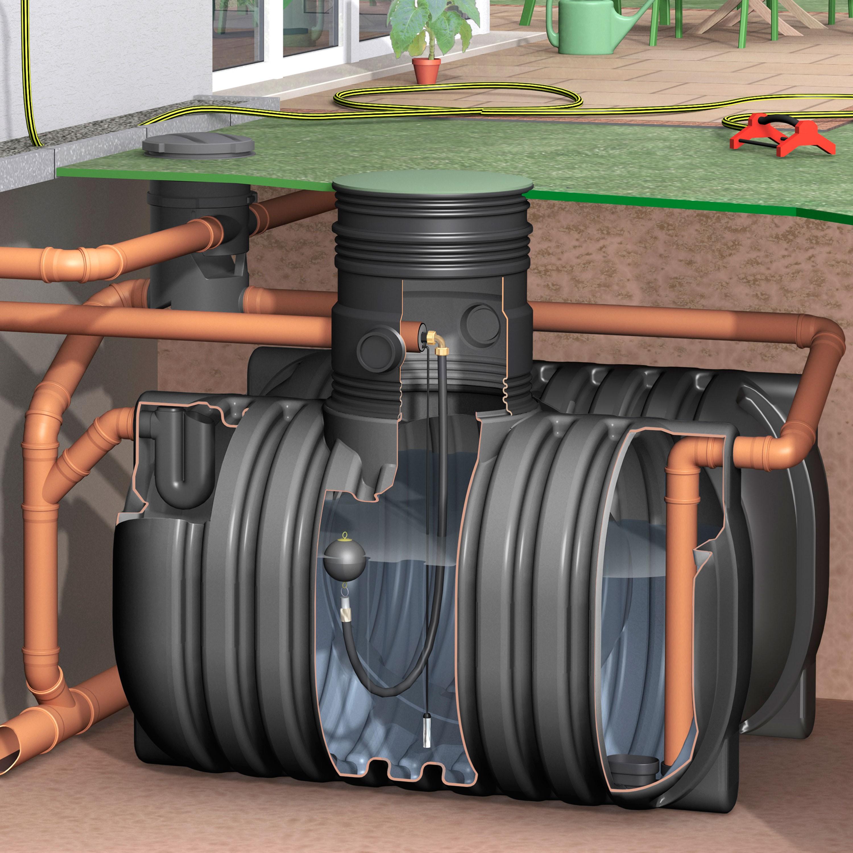 regenwassertank aquirirain bs inkl erdeinbaufilter set professional. Black Bedroom Furniture Sets. Home Design Ideas