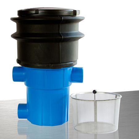 Regenwasserfilter extern Retentionsfilter RVF +Tele Abgang seitlich