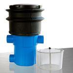 Regenwasserfilter extern Retentionsfilter RVF +Tele Abgang seitlich 001