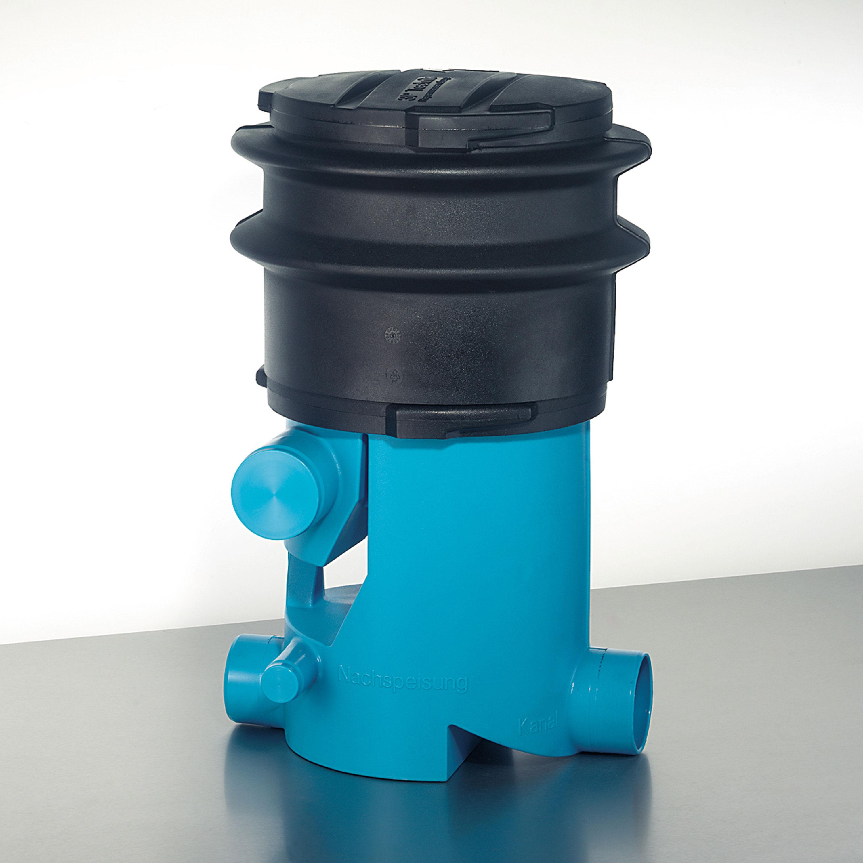 Regenwasserfilter Volumenfilter VF1 mit Teleskopverlängerung