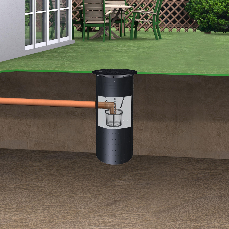 regenwasser versickerungsschacht sickerschacht 500 l inkl. Black Bedroom Furniture Sets. Home Design Ideas