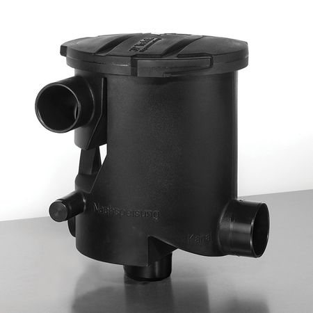 Regenwasserfilter Volumenfilter VF1 combi Höhenversatz 300 mm