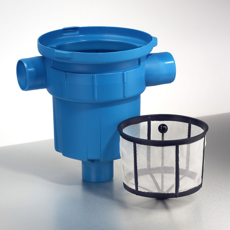 Regenwasserfilter Gartenfilter GF ohne Höhenversatz