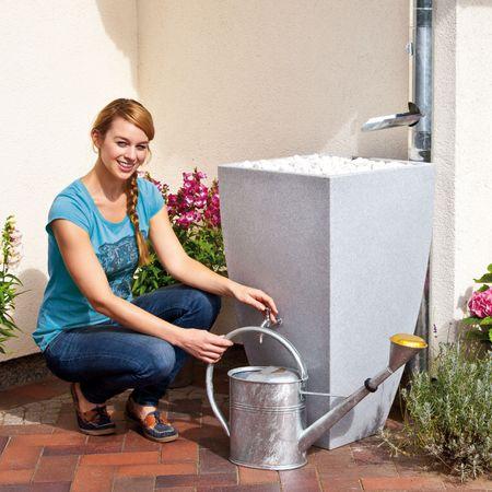 Regenspeicher Modena 200 Liter granit – Bild 3