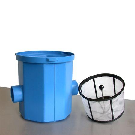 Regenwasserfilter Simplexfilter SPF mit Kunststoffkorb