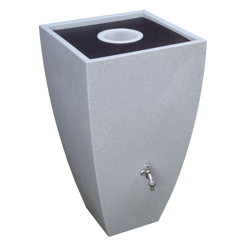 regenwassertonne modena 350 liter granit. Black Bedroom Furniture Sets. Home Design Ideas