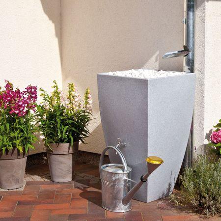 Regentonne Modena granit 350 Liter