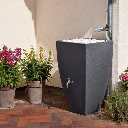Regenspeicher Modena 350 Liter black granit – Bild 1
