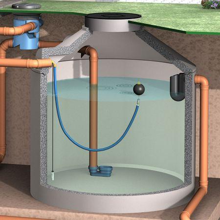 Schwimmende Ansaugarmatur mit 2 m Schlauch – Bild 4