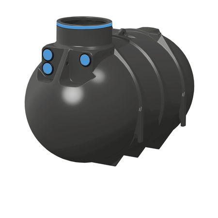 Zisterne 2600 l für Regenwasser BlueLine II - SOLO