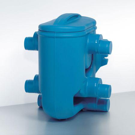 Regenwasserfilter Twinfilter Nennweite DN100 und DN150